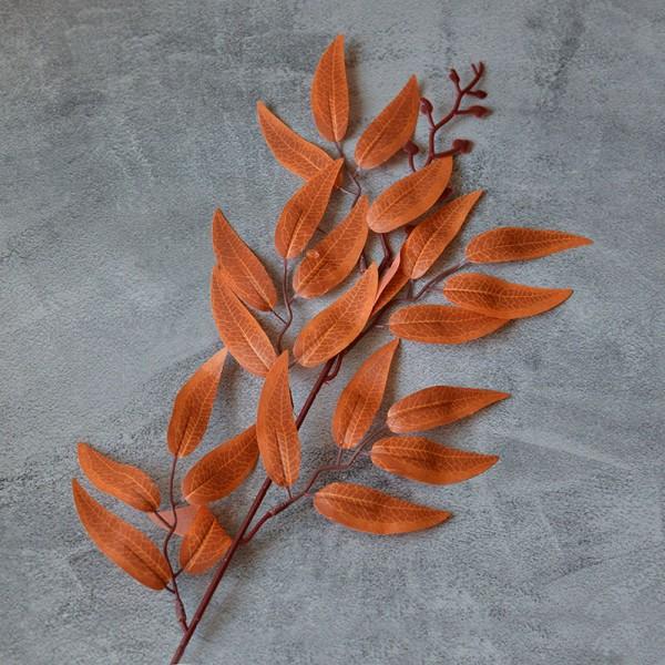 Ветка ивы коричневая 40 см