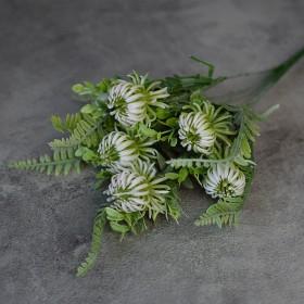 Чертополох новый бело-зеленый 30 см