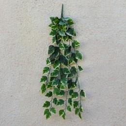 Лиана с бело-зелеными листьями 5 веток 85 см