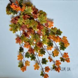Лиана пышная с листьями клена трехцветная 1 м